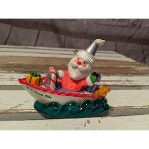 Hallmark Keepsake 2009 Santa's Sweet Ride Boat 3rd